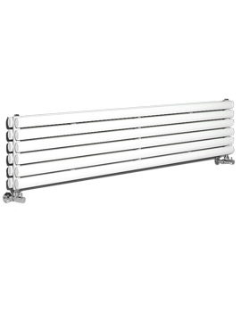 Revive Double Panel Horizontal White Radiator 1800 x 354mm