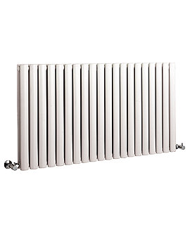 Revive 1180 x 633mm Double Panel White Designer Radiator