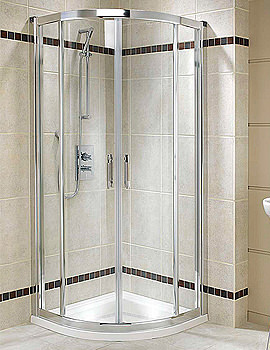 Twyford Geo6 Quadrant Shower Enclosure 900 x 900mm