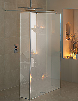 Manhattan Linear Wetroom 1200mm With Double Return Panel - M3CL12LT