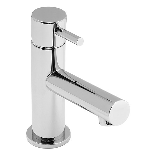 Large Image of Vado Zoo Mini Mono Basin Mixer Tap - ZOO-100M-SB
