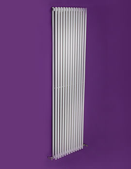 Linea Double Tube-On-Tube Designer Radiator 430 x 1800mm