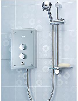 Mira Azora Electric Thermostatic Shower 9.8KW - 1.1634.001