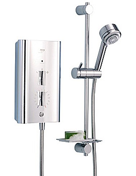 Mira Escape Thermostatic Electric Shower 9.8KW Chrome Finish - 1.1563.011