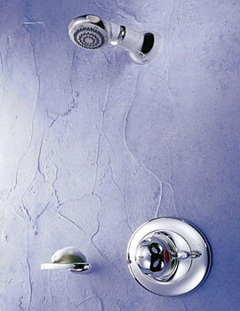 Excel Thermostatic Shower BIR Built In Rigid Chrome - 1.1518.307