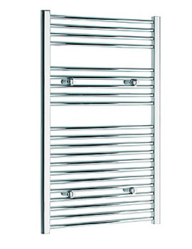 Image of Tivolis Heated Towel Rail Radiator Straight 500 x 1000mm