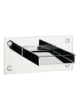 Water Square Wall Mounted Bath Spout - WS0370WC