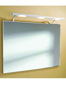 Image of HIB Sidney Illuminated Bathroom Mirror - 71150095
