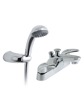Magma Deck Mounted Bath Shower Mixer Tap With Kit - MAG-130+K