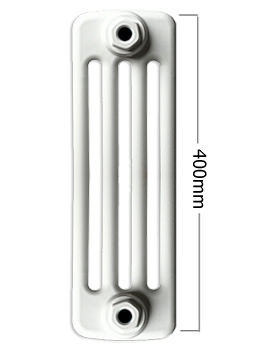 Roma Horizontal 400mm Height 4 Column Steel Radiator