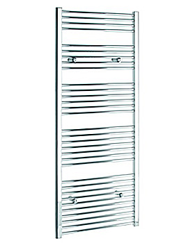 Tivolis Straight 600 x 1600mm Chrome Towel Rail - STRCR60160