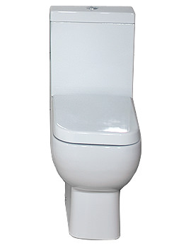 Image of RAK Series 600 Close Coupled WC Pack With Standard Seat 600mm