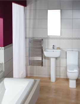 RAK Series 600 Bathroom Suite - S60052BAS1 - S600PAK - NMETBATH
