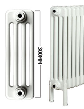 Roma 21 Section 4 Column Radiator Welded Feet 1000 x 300mm