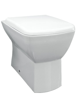 Summit Back To Wall WC Pan With Soft-Close Toilet Seat 540mm