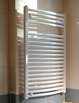 Related Apollo Sorrento Classic Italian Curved White Towel Rail 500 x 1270mm