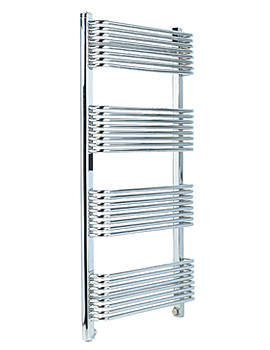 Apollo Trieste Superior White Towel Warmer 600 x 1070mm - TWSW6W1070