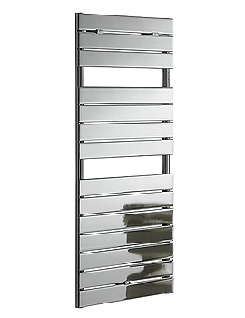 Palermo Flat Panel Towel Warmer Chrome 500 x 1200mm - PA5W1200