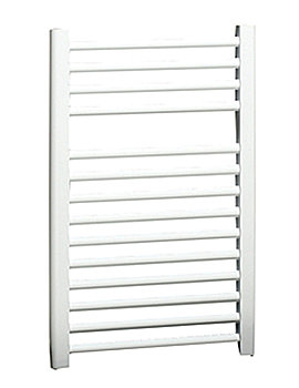 Apollo Napoli Straight Multirail White 450mm x 700mm - ASW4.5W700