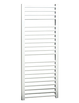 Apollo Napoli Straight Multi-Rail White 500mm x 700mm - ASW5W700