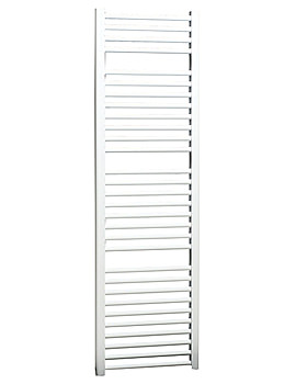 Apollo Napoli Straight Multirail White 600mm x 700mm - ASW6W700