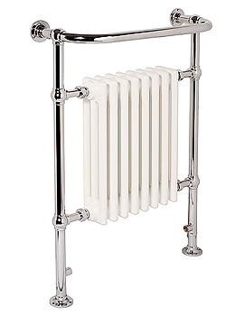 Ravenna Traditional Towel Rail Chrome 500 x 952mm - CR4