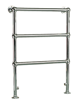 Ravenna Traditional Towel Rail Chrome 695mm x 952mm - PIA6