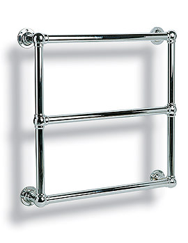 Ravenna Traditional Towel Rail Chrome 695mm x 695mm - P6