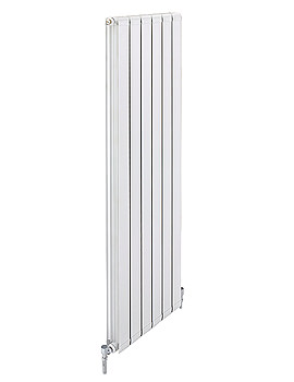 Apollo Modena Vertical Aluminium Radiator 480 x 1442mm - FALV14H6S