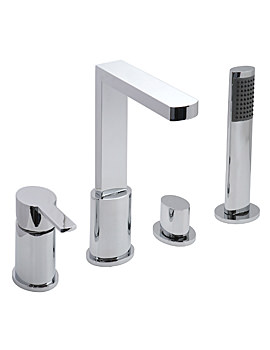 Soho 4 Hole Deck Mounted Bath Shower Mixer Tap - SOH-132