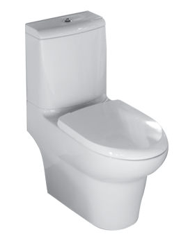 Rak Infinity Close Coupled Full Access WC With Soft Close Seat 695mm