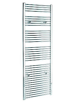 Straight 750 x 1800mm Chrome Towel Rail - STRCR75180