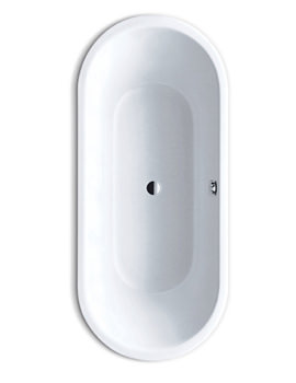 Kaldewei Classic Duo 113 Oval Double Ended Steel Bath 1700 x 750mm
