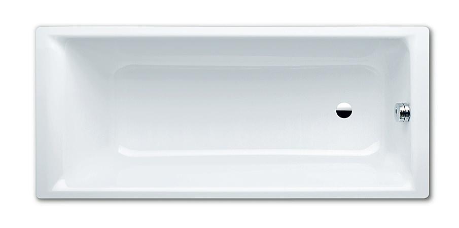 kaldewei puro 687 steel bath 1700 x 700mm 0 th 2587 0001 0001. Black Bedroom Furniture Sets. Home Design Ideas