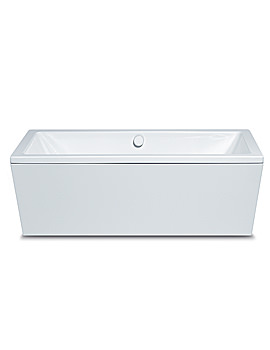 Conoduo Moulded Panel Steel Bath 1800 x 800mm - 235148050001