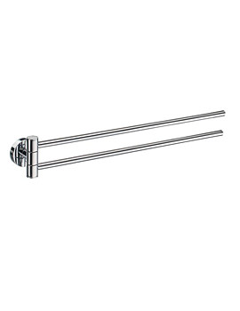 Home Swing Arm Towel Rail 440mm