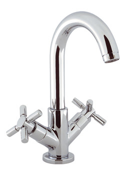 Totti Deck Mounted Monobloc Basin Mixer Tap - TO110DPC