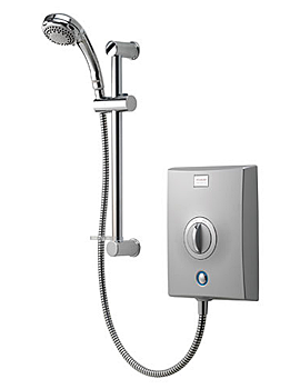 Aqualisa Quartz 8.5 KW Electric Shower Chrome - QZE8501