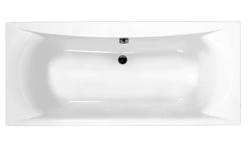Large Image of Carron Alpha Double Ended Acrylic Bath 1700 x 700mm - CABAL17570PA