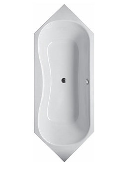 Bette CHIC Super Steel Bath 2100 x 800mm - BETTE3270