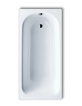 Saniform Plus 362-1 Steel Bath 1600 x 700mm 0 Tap Hole 1921 0001 0001