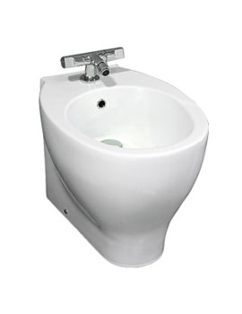 RAK Zen 1 Tap Hole Back To Wall Bidet 535mm
