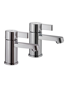 Aquamixa Aquataps Basin Pillar Taps - 450.01