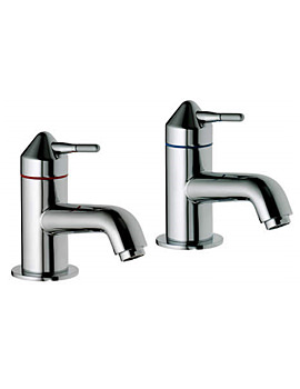 Image of Aqualisa Axis Basin Taps Chrome - AX0211