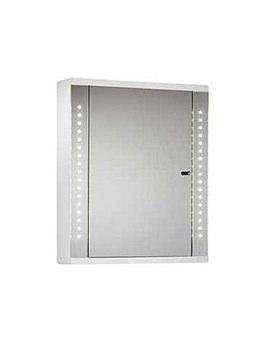 Sensory Instinct Single Mirror Door LED Cabinet 590mm - SN590W