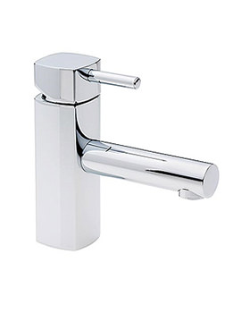 Tre Mercati Kubic Mono Basin Mixer Tap With Pop Up Waste - 67060