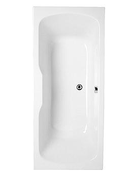 VitrA Optima Double-Ended Bath 1700 x 750mm - 52430001000