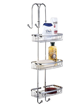 Madison Shower Caddy 245mm Wide - WB70.02