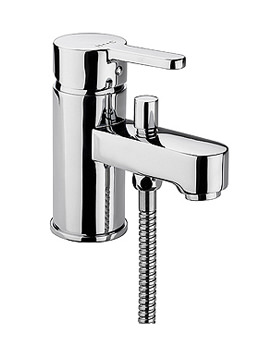 Plaza Monobloc Bath Shower Mixer Tap With Kit | PL-205-C