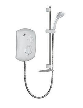 Mira Jump Electric Shower 10.8Kw White - 1.1693.003